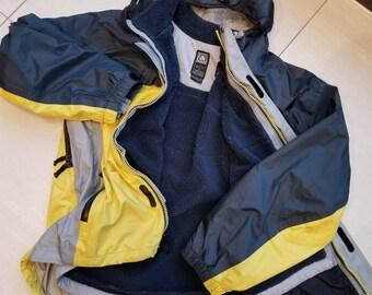 5e527bf3c3e8 Nike ACG Vintage Storm Fit Two Layer Zip Up Jacket Size Medium Men s 90s  2000s