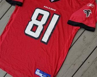5f53265b Reebok Atlanta Falcons NFL Football Jersey #81 Peerless Price Size XL Men's