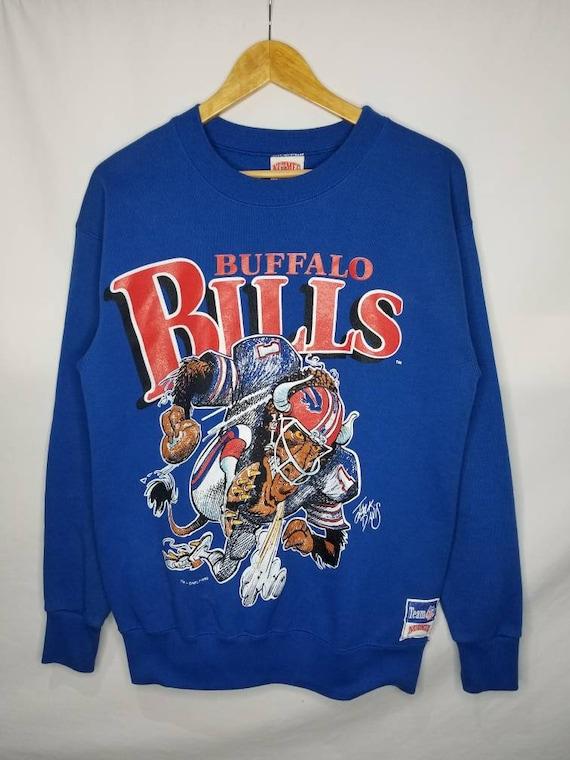 Vintage 1988 Buffalo Bills Sweatshirt By Nutmeg Mi