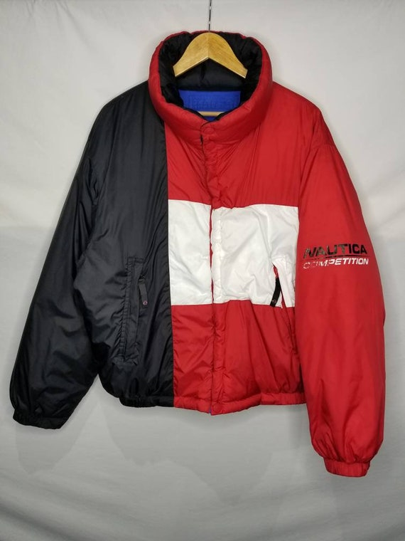 Vintage Nautica Competition Down Filled Reversibl… - image 2