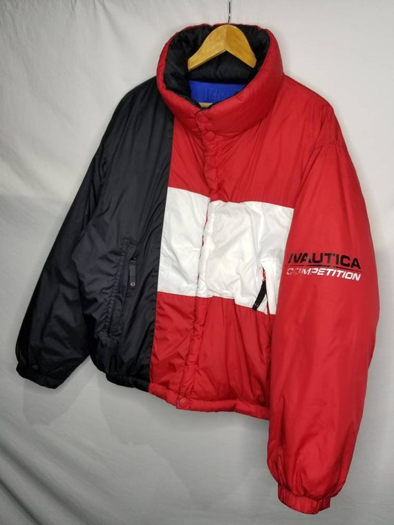 Vintage Nautica Competition Down Filled Reversibl… - image 6
