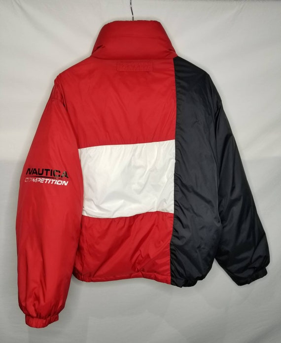 Vintage Nautica Competition Down Filled Reversibl… - image 3