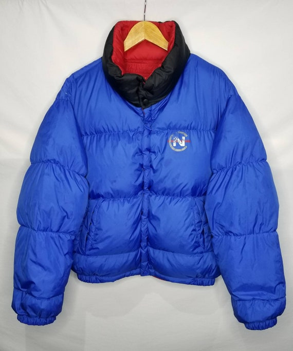 Vintage Nautica Competition Down Filled Reversibl… - image 4