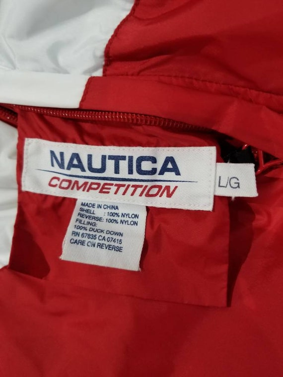 Vintage Nautica Competition Down Filled Reversibl… - image 7