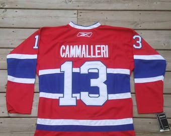 Montreal Canadiens Authentic Reebok Jersery #13 Michael Cammalleri Size 48 NHL