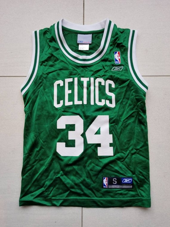 Boston Celtics Reebok NBA Basketball Jersey 34 Paul Pierce  fa1f29c57