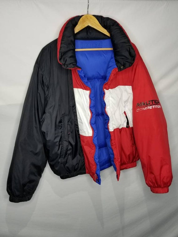 Vintage Nautica Competition Down Filled Reversibl… - image 1