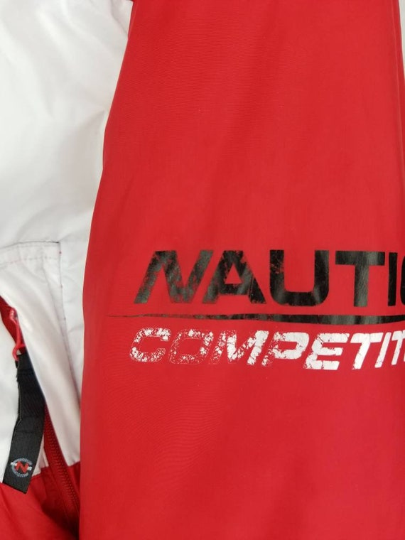 Vintage Nautica Competition Down Filled Reversibl… - image 8