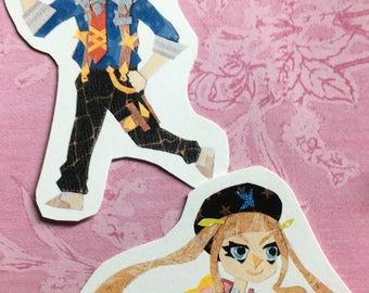Tales of Xillia 2: Sticker Set