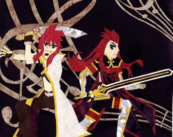 Tales of the Abyss: Luke and Asch Print