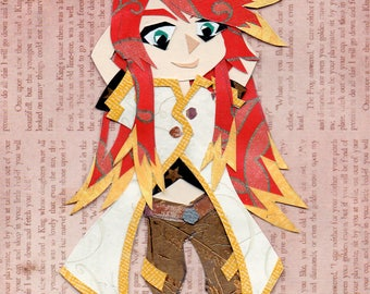 Tales of the Abyss: Luke Chibi