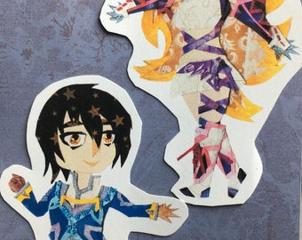 Tales of Xillia: Sticker Set