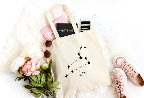 Leo Zodiac Tote Bag Gift Idea Birthday
