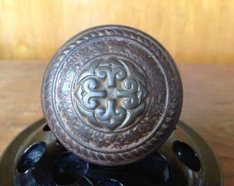 Beautiful Antique Victorian Bronze Doorknob