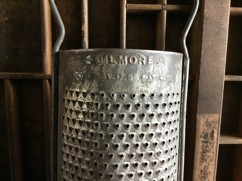 Collection 7 Antique Nutmeg Graters