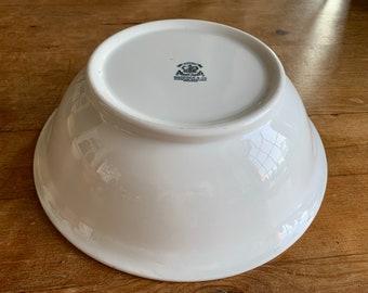 Antique Ironstone Bowl Maddock & Co