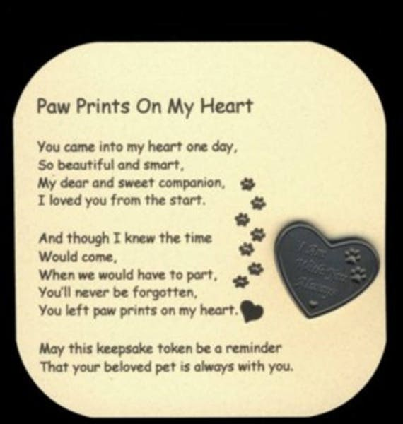 poem for deceased dog