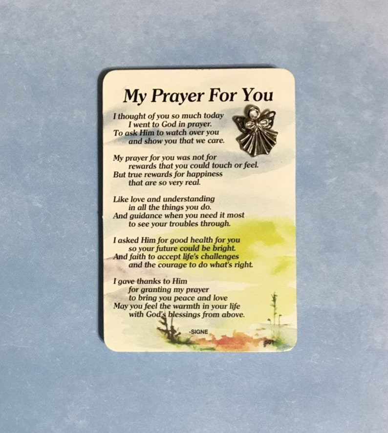My Prayer For You Angel Pin Set