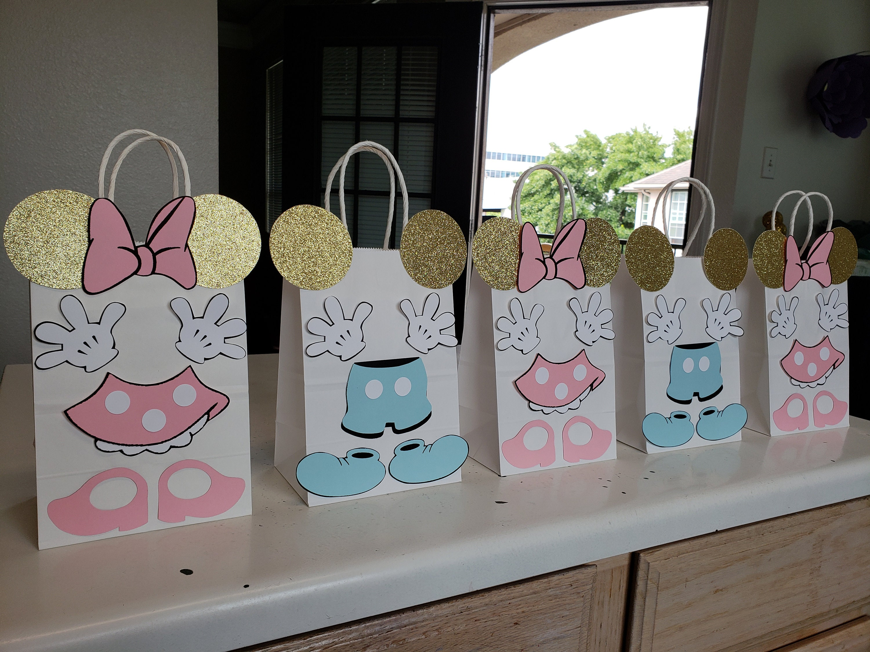 Pink and Gold Minnie Mouse Baby Shower Birthday Party ...