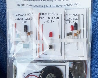 Electric Dreams Kit No1. 5 Projects for Beginners