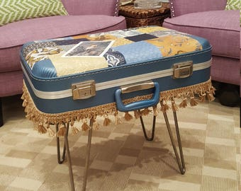 Beau Suitcase Side Table