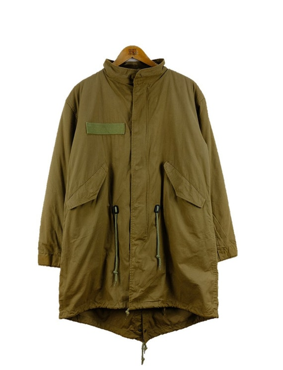 Vintage G.O.A Cargo Military Workshirt Jacket