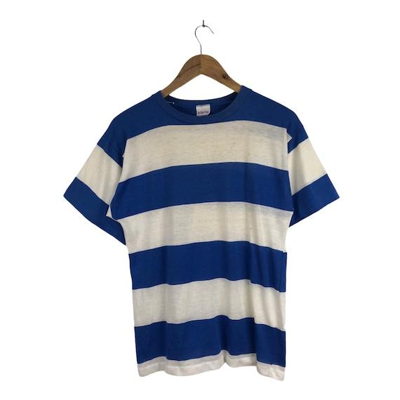 Vintage Striped  Streetwear Tshirt