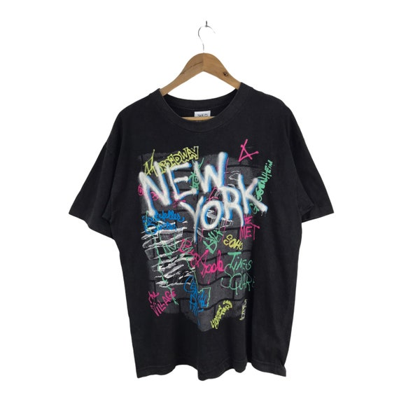 Vintage 90s Wild Oat New York Tshirt