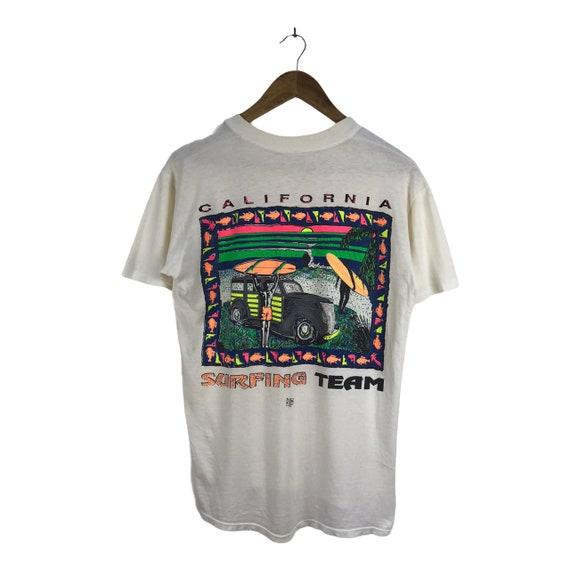 Vintage California Surfing Team Tshirt