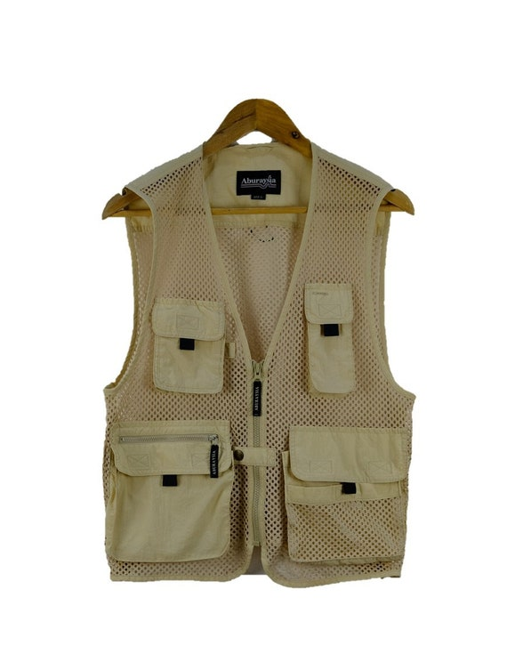 Vintage ABURAYSIA Tactical Multipocket Mesh Vest