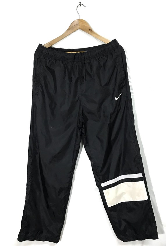 Rare!! Nike Black Windbreaker Sweatpants Joggerpan