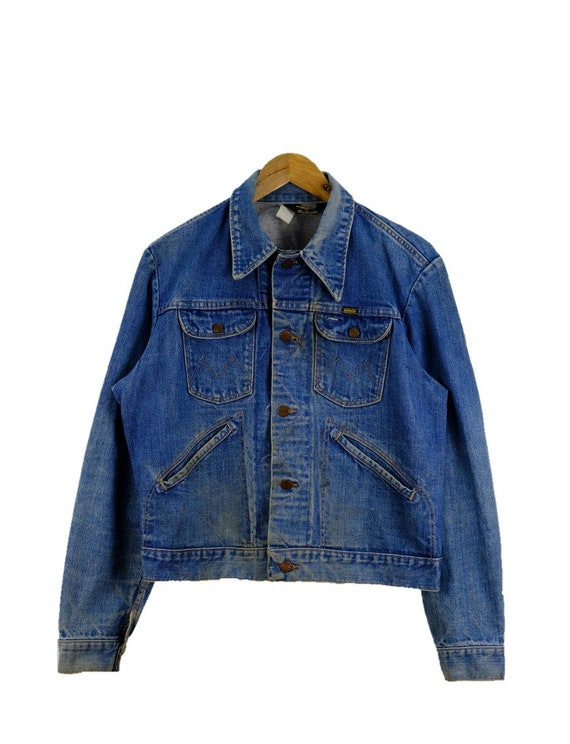 Vintage Maverick Denim Jeans USA Jacket