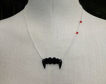 Fangs and Nibbles Necklace