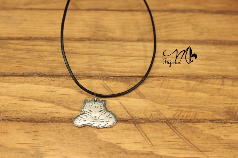 Fox hand made unique Sterling Silver 925
