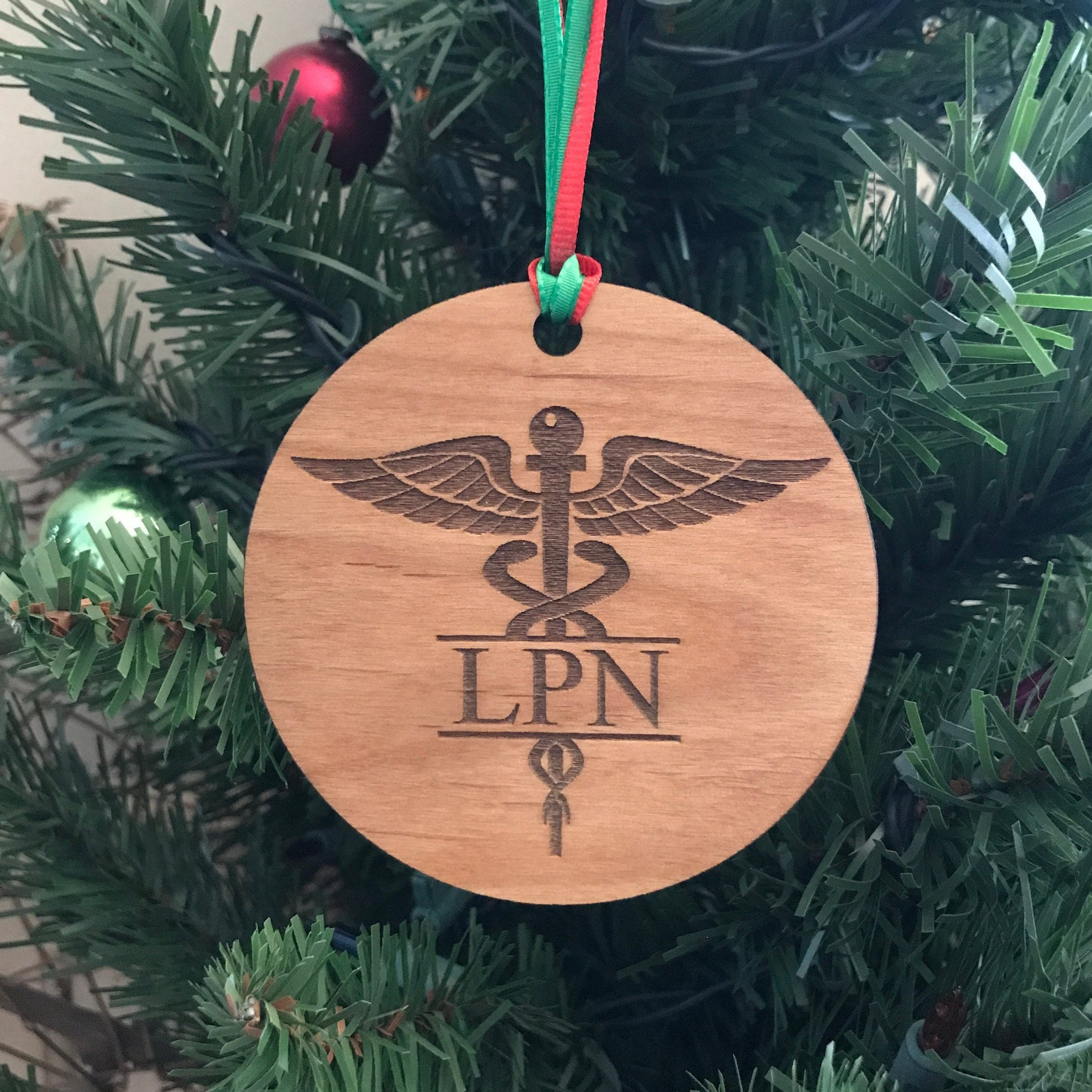 LPN Ornament Nurse Christmas Gifts Nursing Ornaments LPN | Etsy