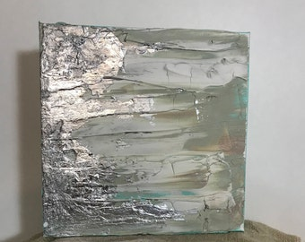 Silver Abstract 3