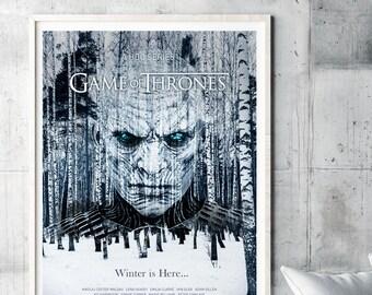 Game Of Thrones Poster TV Art Print Wall GOT Season 7