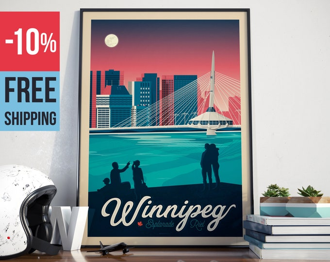 POSTERS - CANADA - OlahoopTravelPoster
