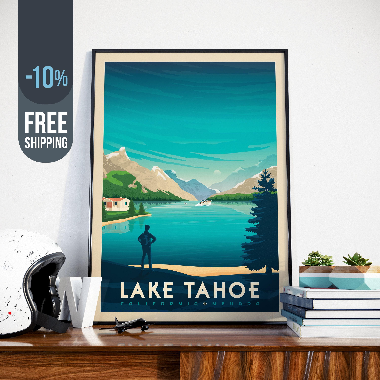 Lake Tahoe National Park Print