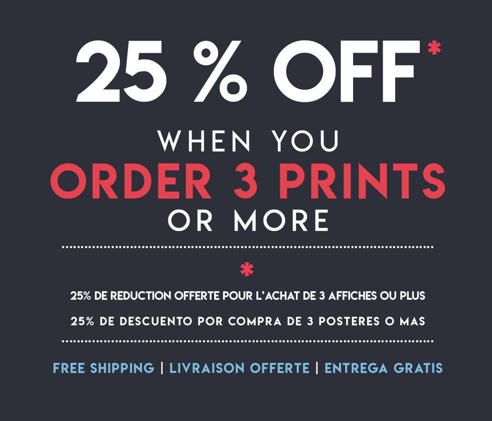 3 dimensions, matte paper or photo paper Poster landscape poster ref 14