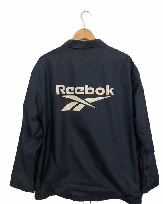 Vintage Reebok Big Logo Jacket
