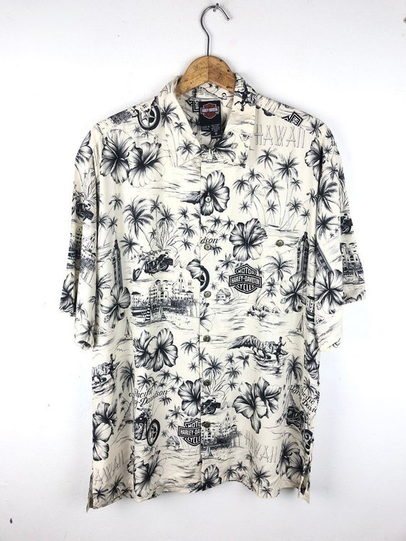Harley Davidson Aloha Shirt