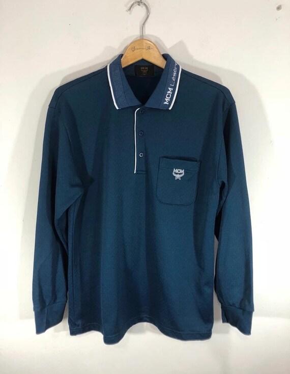 MCM Long Sleeve Polo Shirt