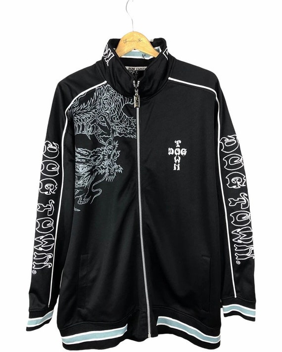Dogtown Black Dragon Embroidered Sweater