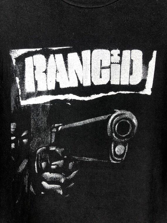 Vintage Rancid Band T-Shirt - image 3