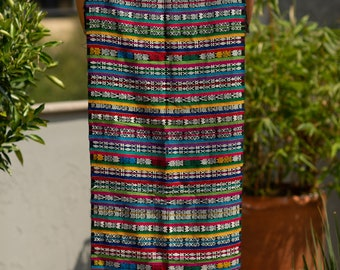 Table runner, textile from Guatemala