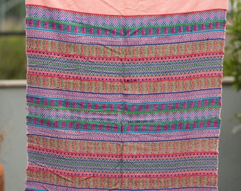 Pink textile from Guatemala