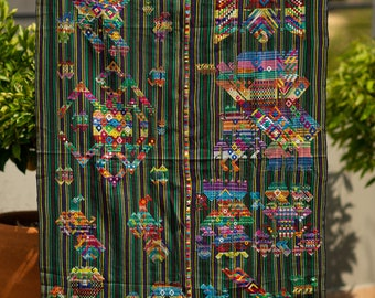 Handwoven textile from Guatemala