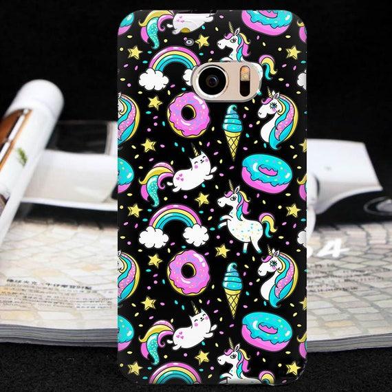 quality design 83837 1668a Htc unicorn case htc one XL one m8 one m9 m10 Catirorn case htc 10  Lifestyle htc 10 one A9 one E9 + htc Bolt HTC U Play One M8 M8s HTC U11