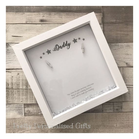 First scan 3d keepsake photo frame with poem unknown gender bump frame Christmas Gift from bump